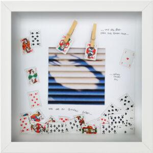Die Zeit zieht ihre Karten, Karen Mirbach, 2020