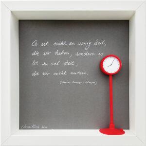 Zeit, Anne Kirch, 2020