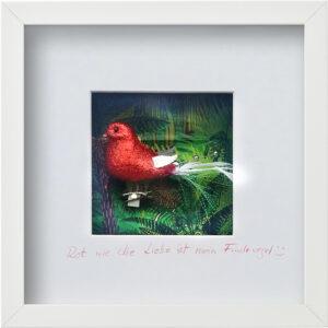Rot wie die Liebe ist mein Findevogel, Rita Rohrbach, 2020