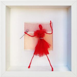 Lady in Red II, Hanne Schauer, 2021