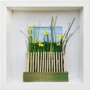 Blick über den Zaun, Sabine Scheld, 2021
