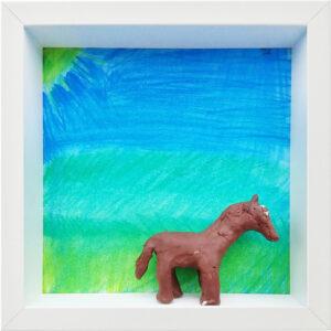 Pferd, Alina, Klasse 5e, Ricarda-Huch-Schule, Gießen, 2021