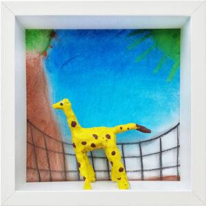 Giraffe, Leonie, Klasse 5e, Ricarda-Huch-Schule, Gießen, 2021