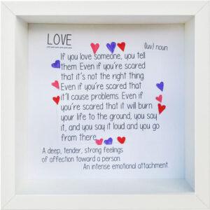 Love, Love, Love, Carolyn Böhme, Friedrich-Magnus-Gesamtschule, Laubach, 2021