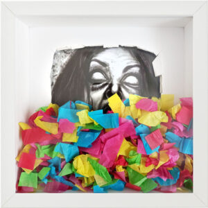 Colourful nightmares, Leonard Kempff, Friedrich-Magnus-Gesamtschule,  Laubach, 2021
