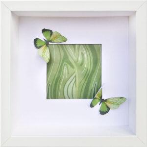 Green Butterfly, Tais Hermannski, Friedrich-Magnus-Gesamtschule, Laubach, 2021